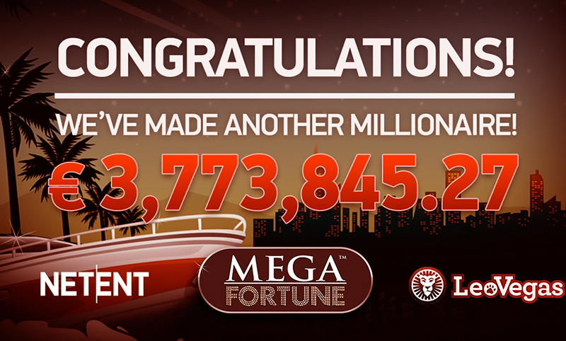 netent Mega fortune vinster